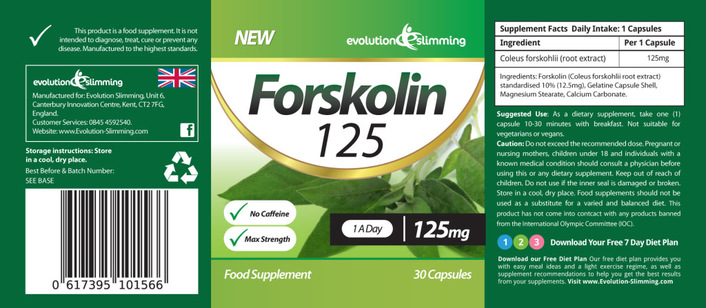 Forskolin-Label